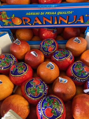 orange sanguine de Sicile 2kilos 5€