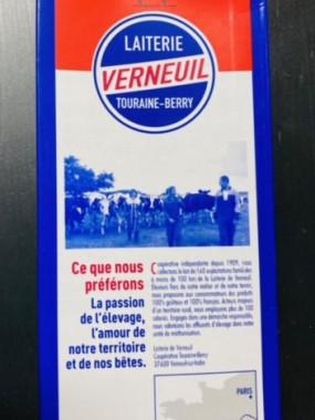 lait entier  Verneuil