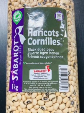 haricots cornilles black eyed 1 kilo