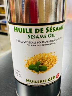 huile de sésame 50 cl