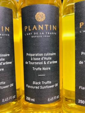 huile de tournesol arome truffe noire 250 ml
