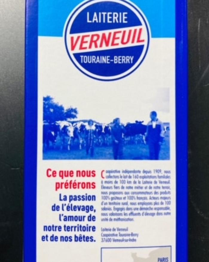 lait demi écrémé  Verneuil