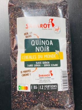 quinoa noir 1 kilo