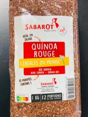 quinoa rouge 1 kilo