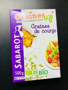 graines de courges bio 500gr