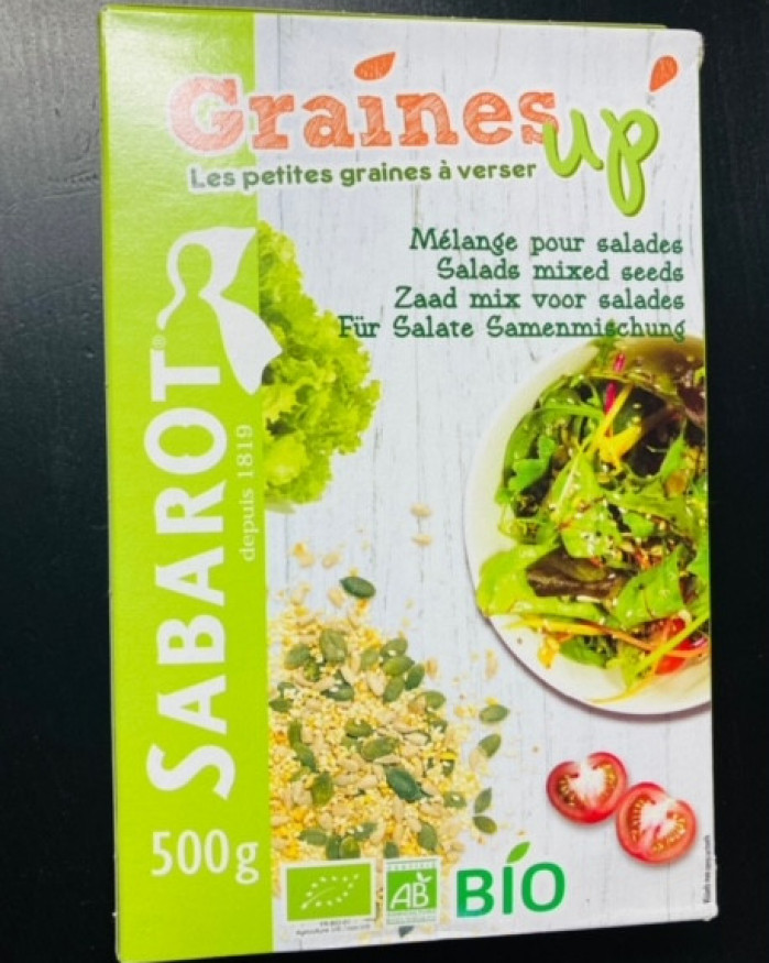 mélange de graines bio 500gr