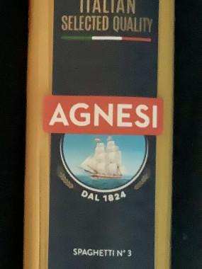 Spaghetti Agnesi