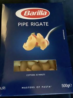 Pipe régate barilla