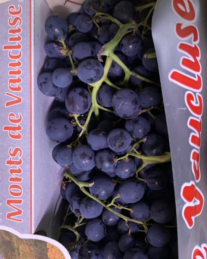raisin noir France muscat aoc promo 2 kilos 5€